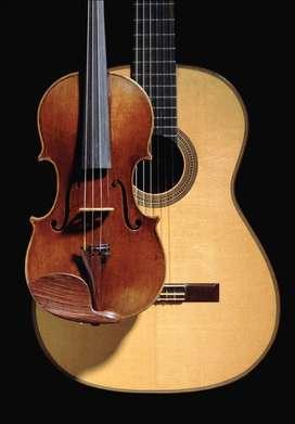 Clases de Canto, Violín y Guitarra Criolla
