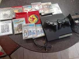Vendo PS3 SLIM Completa