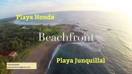 Incredible 5 beachfront titled hectares at Playa Junquillal /5 hectáreas frente a Playa Junquillal
