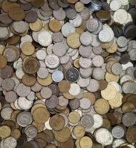 4 kilos surtidos de Monedas argentinas