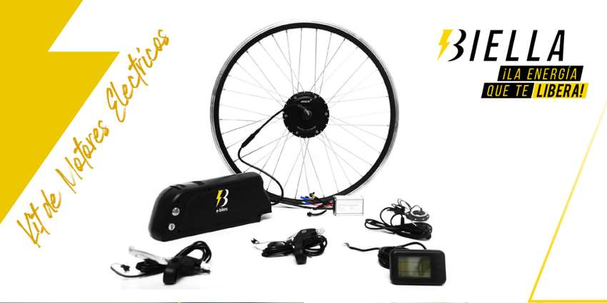 Kit / Bateria Bicicleta Electrica Kit 350w - Convierte tu bici en una e-bike eléctrica 0