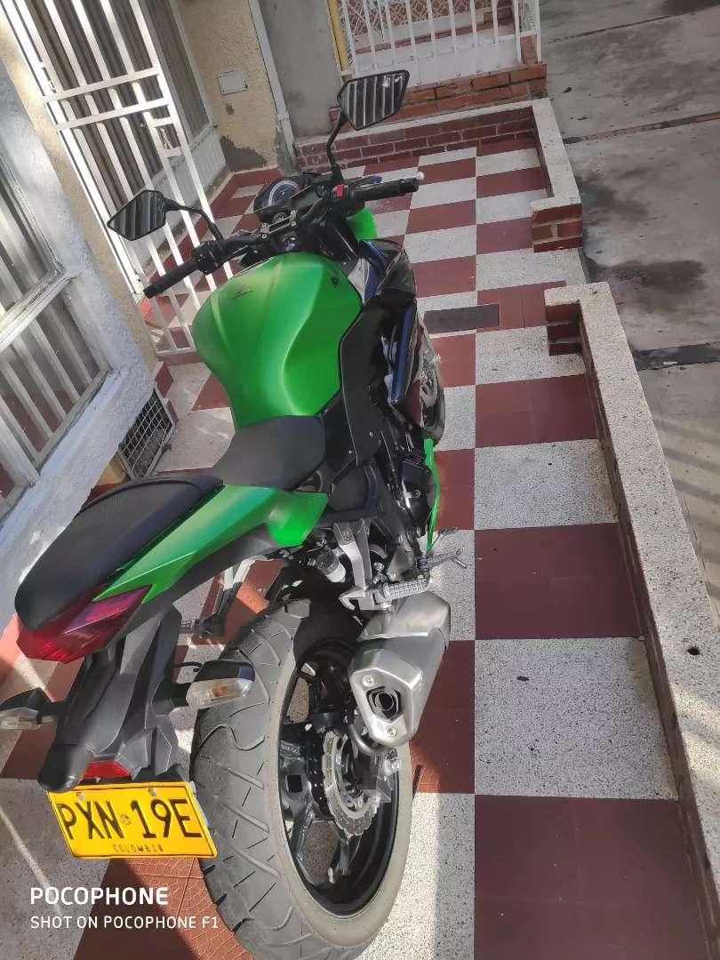 Hermosa Kawasaki único dueño 0
