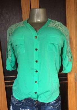 Blusas talla S $6000