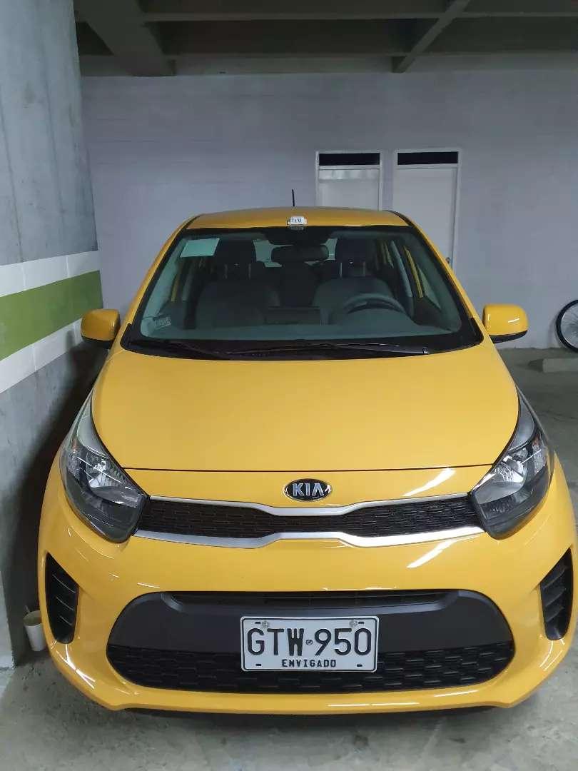 Vencambio Taxi kia  2020 nuevo de la empresa individual 0