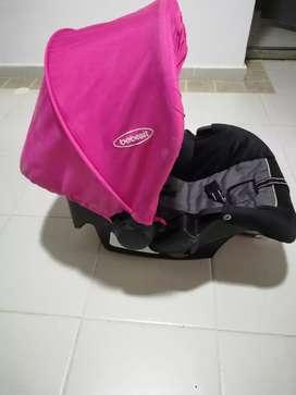 Remato silla de carro de bebe
