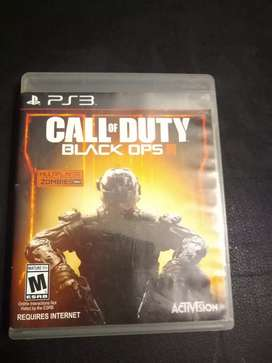 Vendo Call of Duty Black Ops 3 para play Station 3