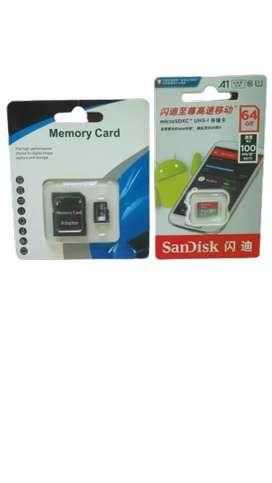 Sdcard Micro Sd 32 Gb. Y 64 Gb.
