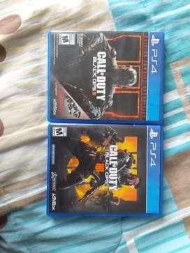 Vendo juegos de Playstation 3 y 4