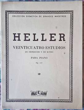 Heller 24 Estudios De Expresión Y De Ritmo - Julio Korn 1958