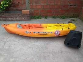 Kayak K1 Atlantic Kayak segunda mano  Mar del Plata, Buenos Aires