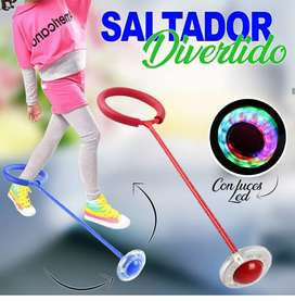 Saltador con luces led