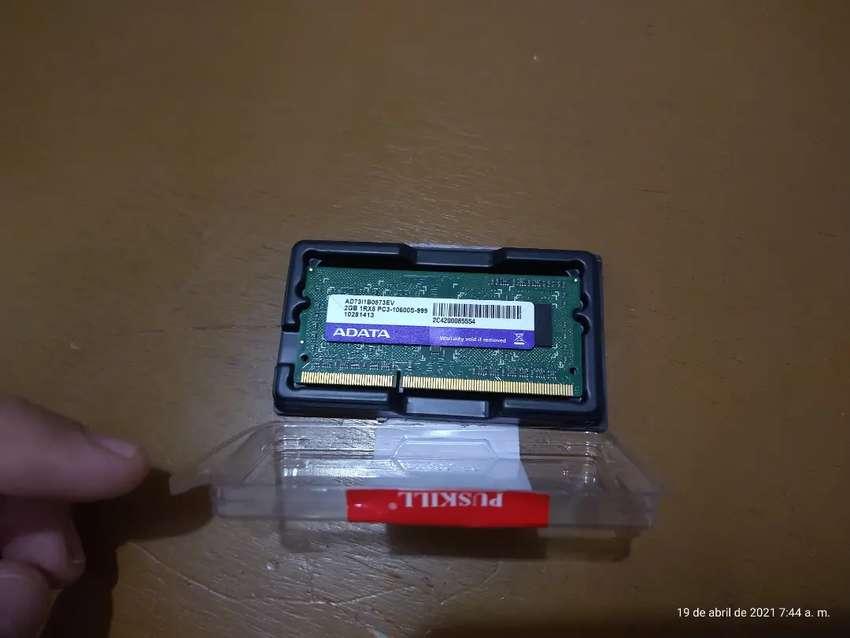 Memoria DDR3 2Gb Portatiles