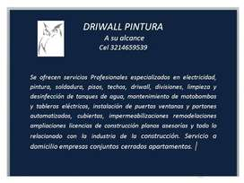 DRIWALL PINTURA