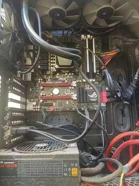 PC i5 16gbRAM SSD+HDD case gamer