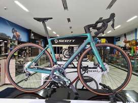 Bicicleta scott addict rc ciclismo ruta
