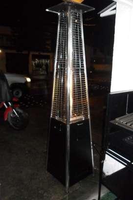 Calefactor Tipo Piramide a Gas