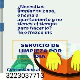 SERVICIOS DE LIMPIEZA POR DIA