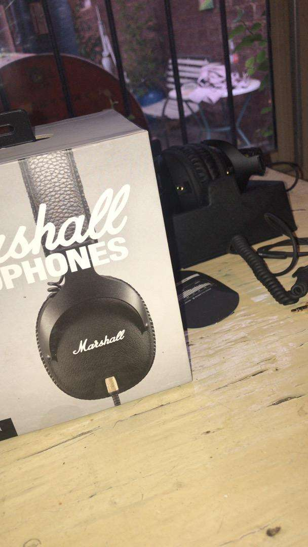 Auriculares marshall monitor 0
