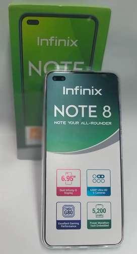 Cel Infinix Note 8 6ram 128Gb