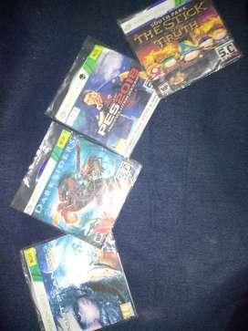 Se venden  video juegos de xbox 360 5.0