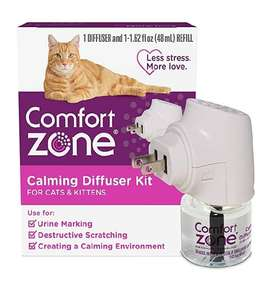 Comfort Difusor Feromona Gato - control de ansiedad - estrés