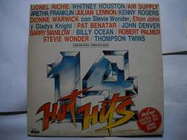 14 hot hits vinilo impecable