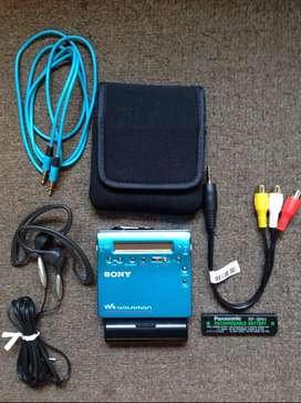 Minidisc Sony MzR900 Mdlp 9.5 de 10