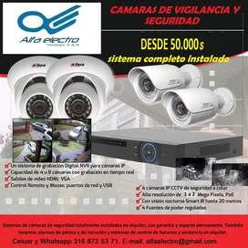 Camaras de vigilancia y seguridad