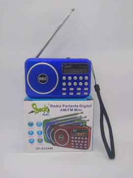 Radios AM-FM digitales recargables