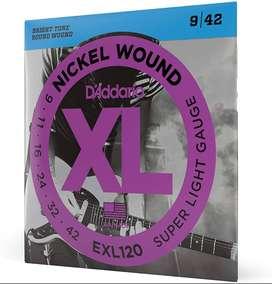 D'Addario EXL120 - Cuerdas de guitarra eléctrica (9-42)
