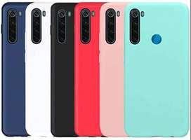 Silicone Case Celular Forro Xiaomi  note 7, 8, 8 pro, 9, 9S, 9T, 9pro
