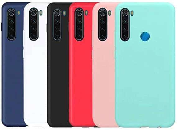 Silicone Case Celular Forro Xiaomi  note 7, 8, 8 pro, 9, 9S, 9T, 9pro 0