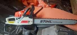 motosierras stihl nueva con motor potente para trabajo continuo