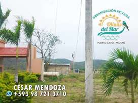 VENDEMOS GRANDES TERRENOS URBANÍSTICOS - ENTRADA DE $90 - PUERTO CAYO, MANABI. S1