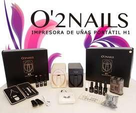 """IMPRESORA DE UÑAS """"O2NAILS"""" _ H1"""