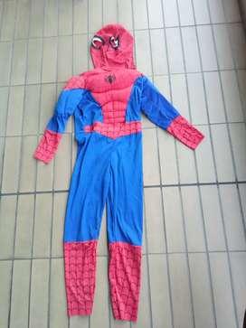 Disfraz hombre araña spiderman fantastic night talla 8