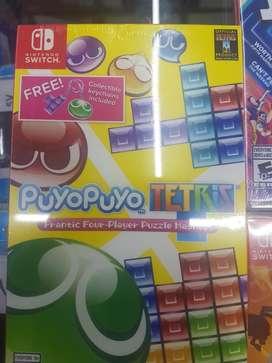 Puyo Puyo Tetris Nintendo Switch Nuevo
