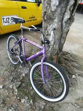 Bicicleta de cambios barata