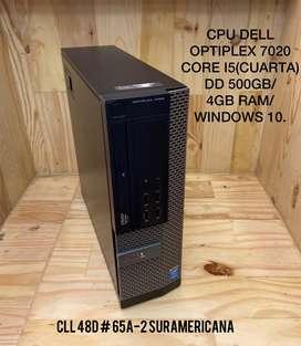 Torre Dell OPTIPLEX 7020 Core i5 4ta Gen