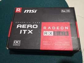 Tarjeta gráfica RX 560, 4 gigas
