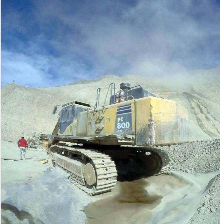 Excavadora komatsu pc800 0