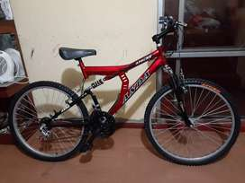 Vendo bicicleta montañera  marca ANDA