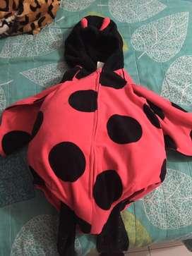Disfraz mariquita 12 meses