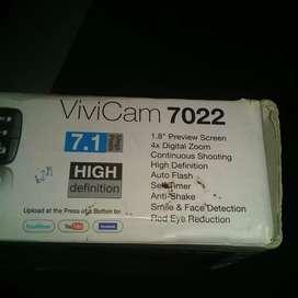 Camara digital vivitar vivicam7022