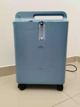 Alquiler semanal de concentrador de oxígeno Philips 5lpm