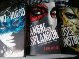 Trilogia Hija de Humo Y Hueso