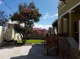 RENTO Propiedad 250m2, con Departamento -  Galpon y Oficinas. Sector Miraflores. Ambato - Ecuador