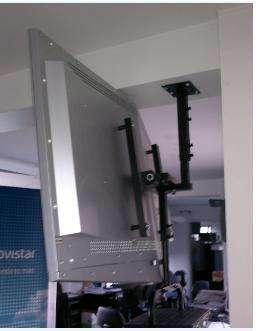 soporte giratorio para tv