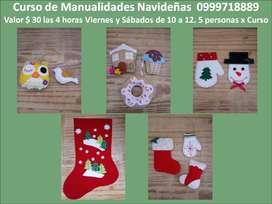CURSO DE MANUALIDADES NAVIDEÑAS 2020 - Quito
