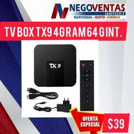 Tv box tx9 4gb 64int